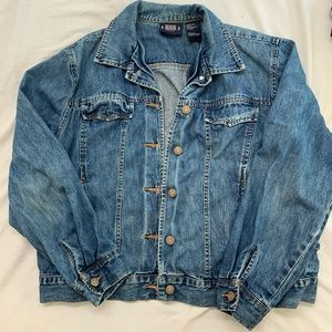 Bill Blass vintage denim jean jacket